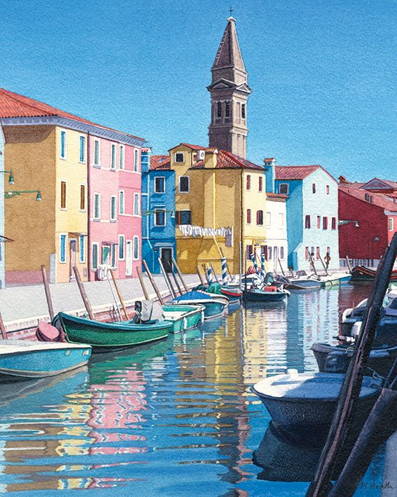 Searching for the colours of burano