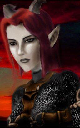 Tiefling from Neverwinter Nights | Tiefling Art ...