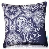 Dazzle Cushion Cover (Premium) is very softer to touch and heavier by weight.