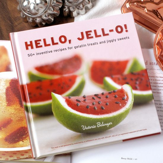 Enter to Win @Victoria Brown Brown Belanger's Hello, Jell-O! Cookbook Giveaway!