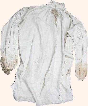 Koszula króla Stanisława Augusta Poniatowskiego - XVIII wiek, Willanów