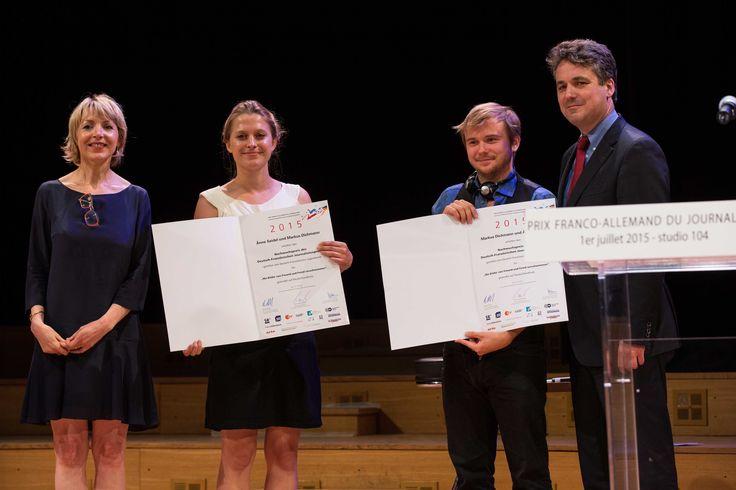 Prix des jeunes talents attribué à Änne Seidel / Markus Dichmann. Photo prise par Corentin Bomstein pour #lincisif