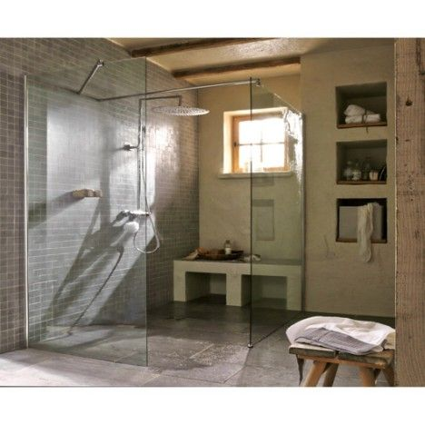 Mejores 120 im genes de salle de bains en pinterest for Paroi douche moretti