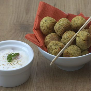 Delicious Baked Falafel - For best results use dried chickpeas and hydrate them the night before you make the dish.
