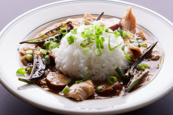 Charred Okra Gumbo with Chicken and Andouille - Lucky Peach