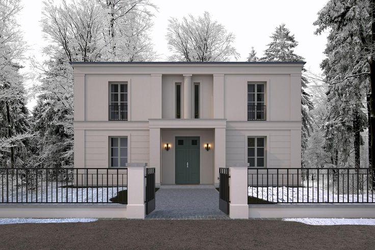 Wohnhaus in klassisch tradtionellem baustil villa im for Moderne architektur wohnhaus