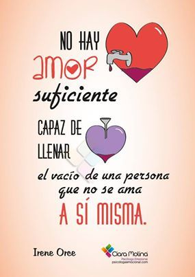 No hay amor