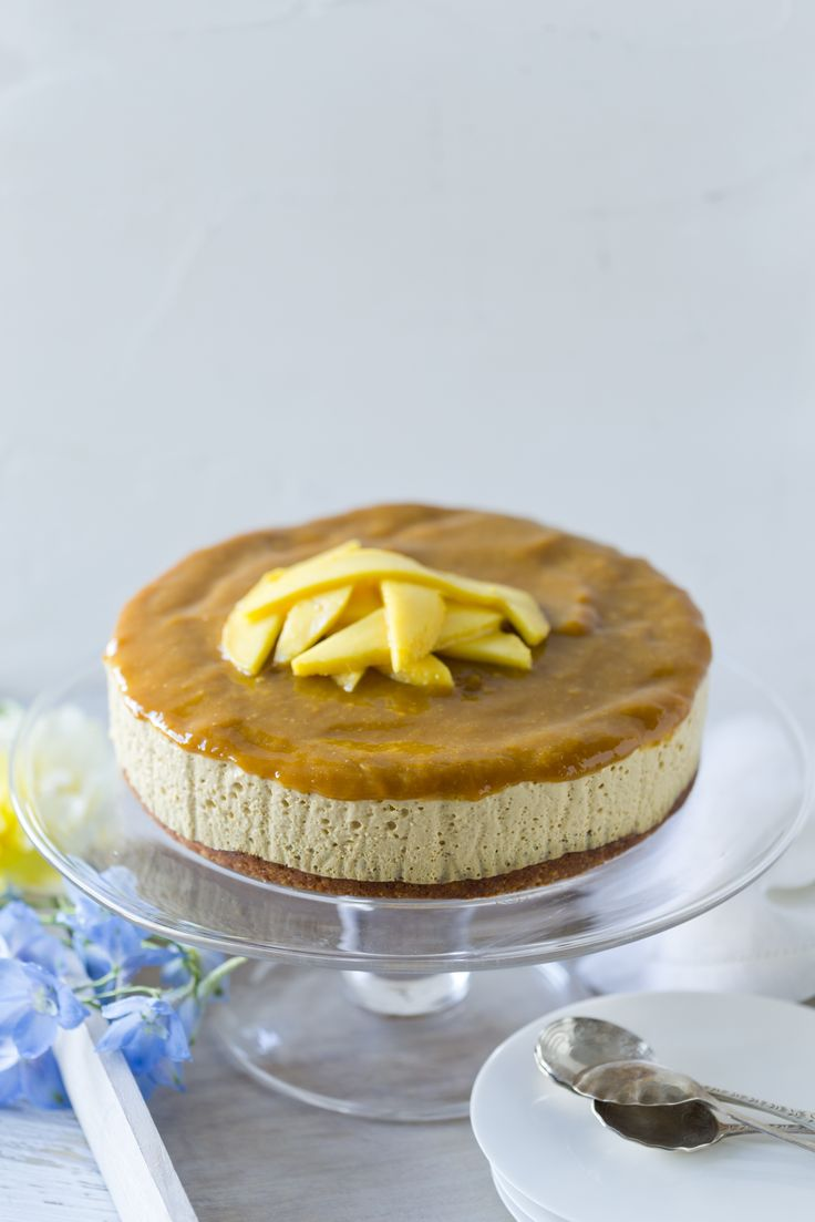 Mango Cheesecake | THERMOMIX | Naturally Sweet Collection from Cookidoo