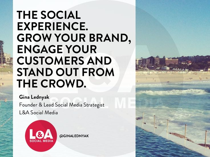 Social Media Marketing for the Tourism Industry by L&A Social Media via slideshare