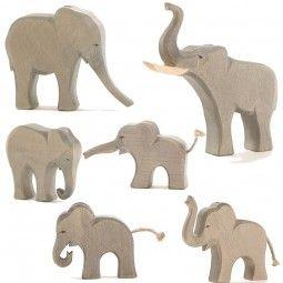 Elefanten 6tlg. Ostheimer SET