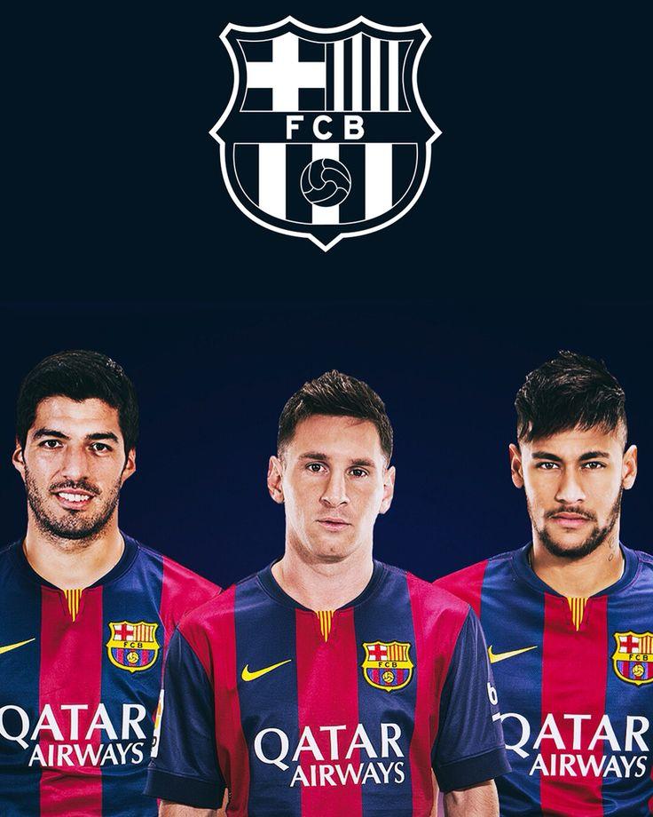 Messi Neymar y Suárez