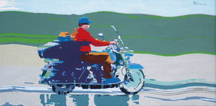 """Mostra """"Il viaggio"""" di Amato Patriaca, dal 16 gennaio al 10 febbraio 2013 allo Spazio Oberdan della Provincia di Milano. """"Harley"""""""