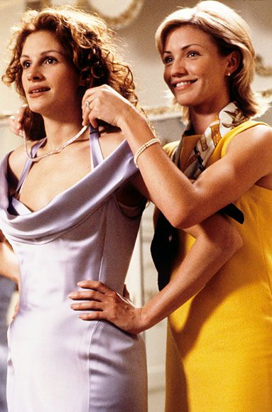 Memorable Movie Bridesmaids:   My Best Friend's Wedding's Julianne Potter http://www.instyle.com/instyle/package/general/photos/0,,20464370_20598577_21163283,00.html#