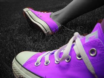 Purple Color Splash Converse Photo:  This Photo was uploaded by amd1013. Find other Purple Color Splash Converse pictures and photos or upload your own w...