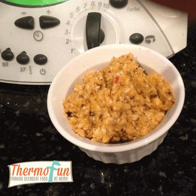 Post image for ThermoFun – Roasted Pumpkin, Cashew & Parmesan Chunky Dip Recipe