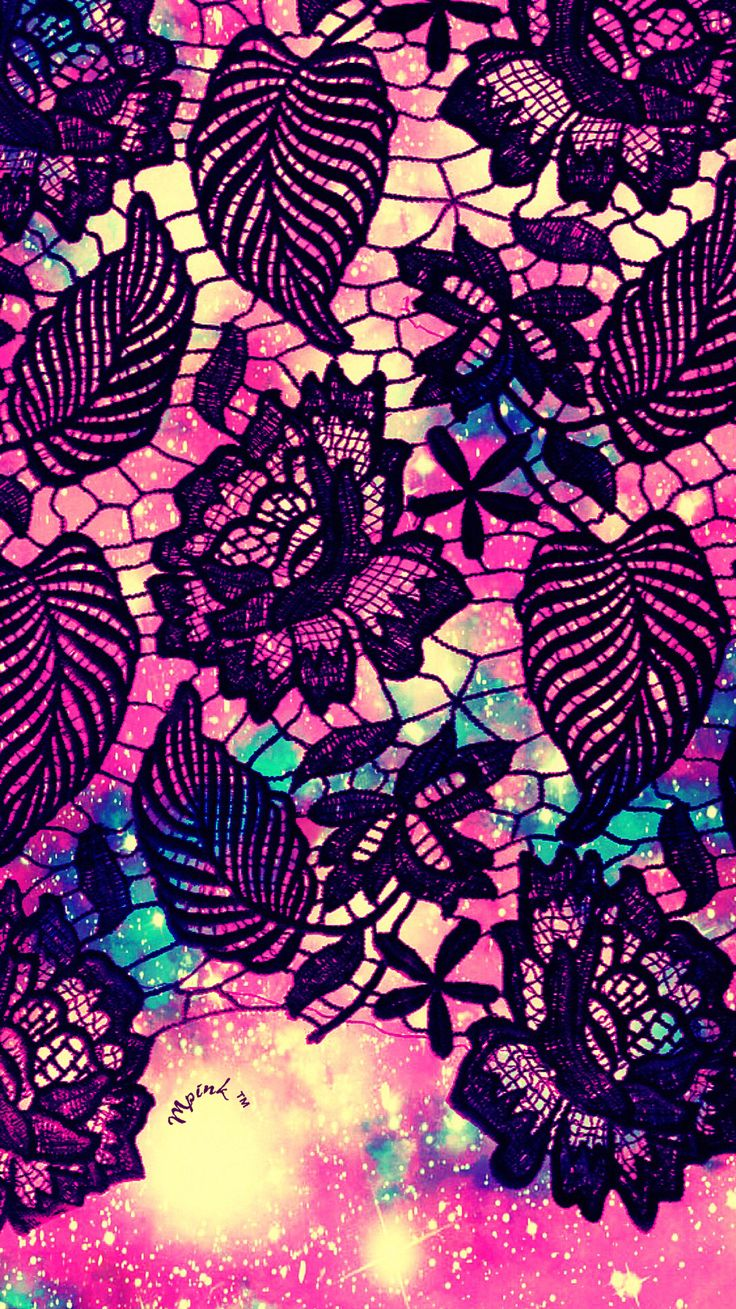 Cute Lace Floral Pattern Wallpaper#iPhone #android #phonewallpaper #wallpaper