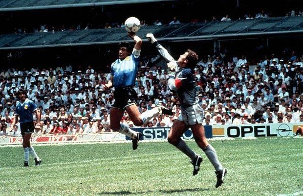 Maradona 'Hand of God', 1986
