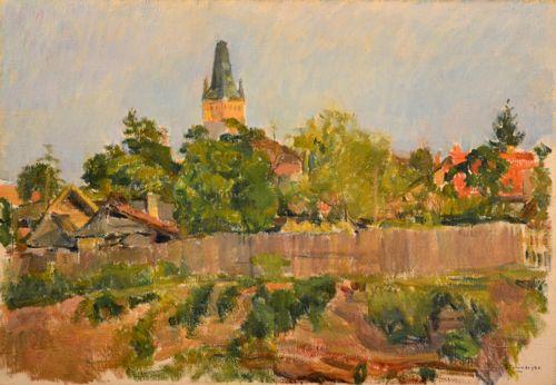 Jean Alexandru Steriadi (1880-1956) – PEISAJ CU TURN