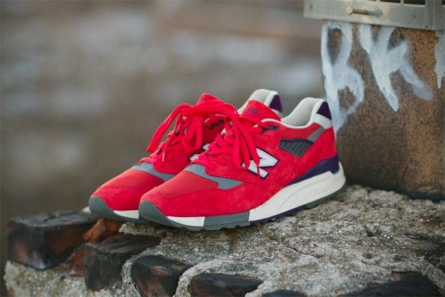 "EXCLUSIVE FIRST LOOK AT THE J.CREW AND NEW BALANCE 998 ""INFERNO"" SNEAKER. We have more photos at: http://select.sm/Mmy3jU"