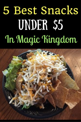 Planning out what you will have for a snack means you will make the most use of your money/snack credits. Here are the 5 best snacks under $5 in Magic Kingdom: