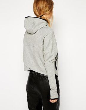Nike Fleece Hoodie With Butterfly Back x
