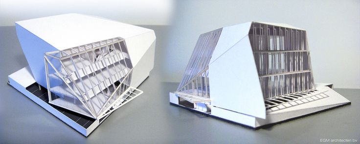 Cardboard model- energy efficient office   Flickr - Photo Sharing!