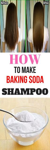 BAKING SODA SHAMPOO: YOUR HAIR WILL GROW LIKE IT'S MAGIC