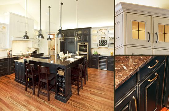 Best 25 Black And Cream Kitchen Ideas On Pinterest Traditional Kitchen Designs Traditional