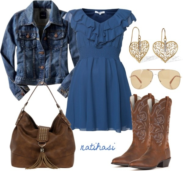 """Cute Spring Summer Country Outfit"" by natihasi on Polyvore"