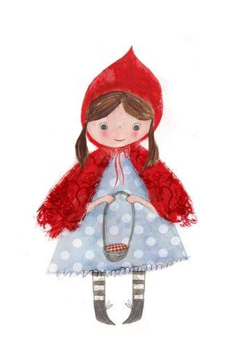 Laura Hughes - little red riding hood