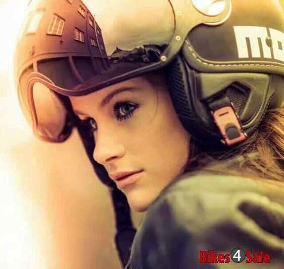 Girl Rider Helmet