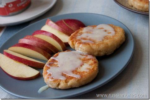 Ukrainian/Russian breakfast. Cheesecake Pancakes.