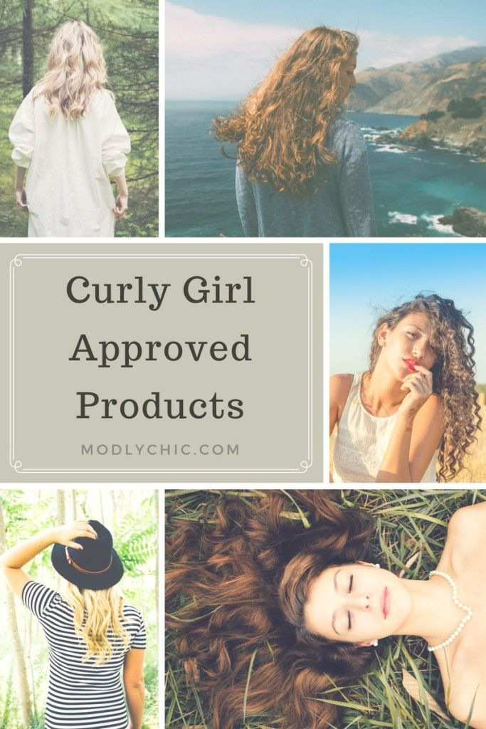 Curly Girl Approved Products An extensive list of all the Curly Girl Method approved products I could find.  http://www.modlychic.com/2016/08/curly-girl-approved-products-2016.html