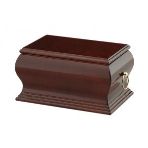Lincoln Mahogany Cremation Ashes Casket. One of the finest selections of high quality Wooden Cremation Ashes Caskets & Urns found anywhere. Make your choice with the confidence of exceptional customer service matched with our low pricing policy. Visit http://coffincompany.co.uk/urns/wooden-urns-caskets