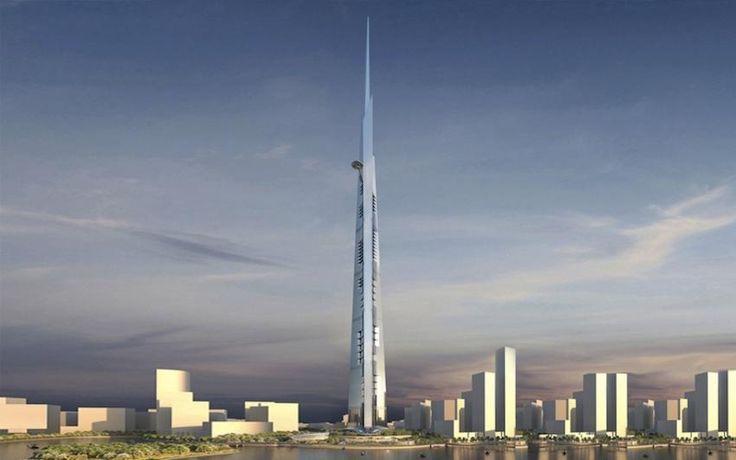 Kingdom Tower: une tour de 1 km de haut sort de terre à Jeddah - - Bilan