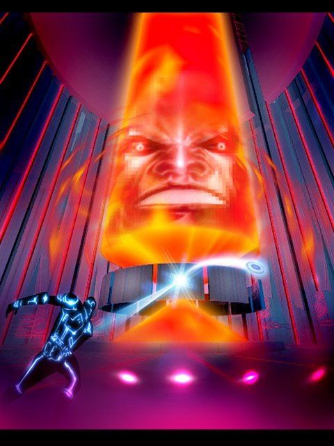 Tron - the MCP (master control program) | Vox Tron artwork ...