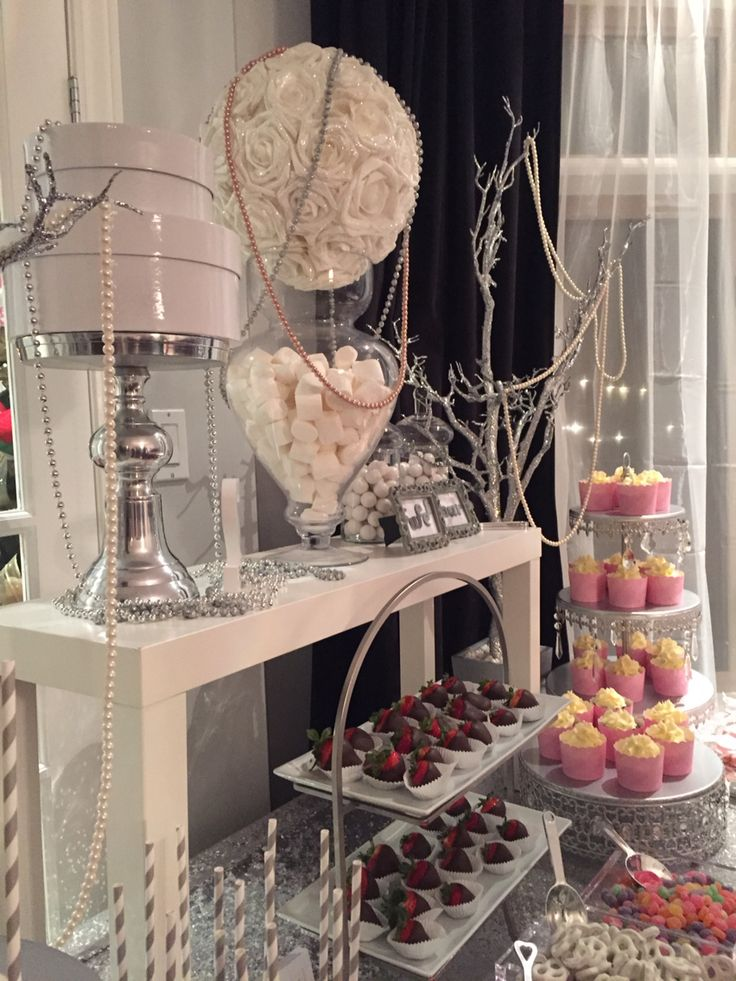 Sweet table -for all occasions -cupcakes and cake pops -strawberries dipped in chocolate