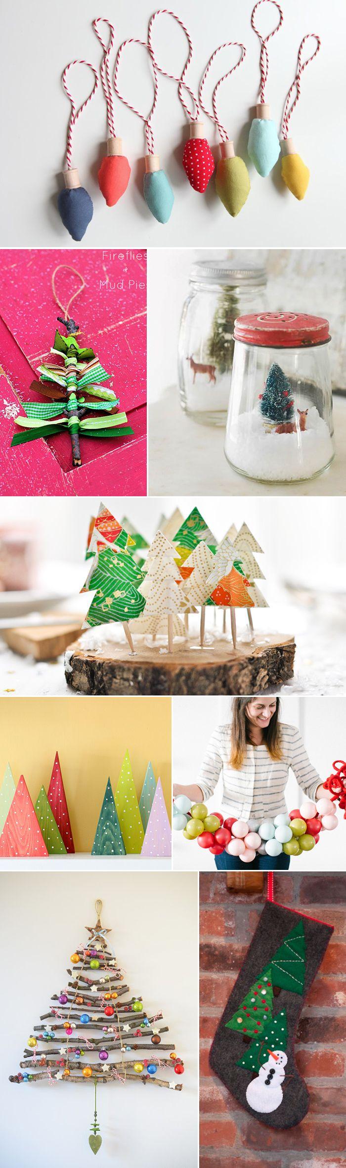 DIY Christmas tutorials for crafts & decor