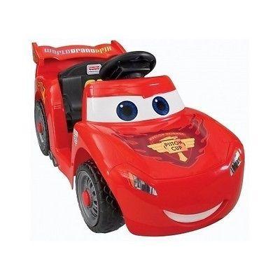 Power Wheels Disney/Pixar Cars 2 Lil' Lightning McQueen Hudson Hornet Piston Cup