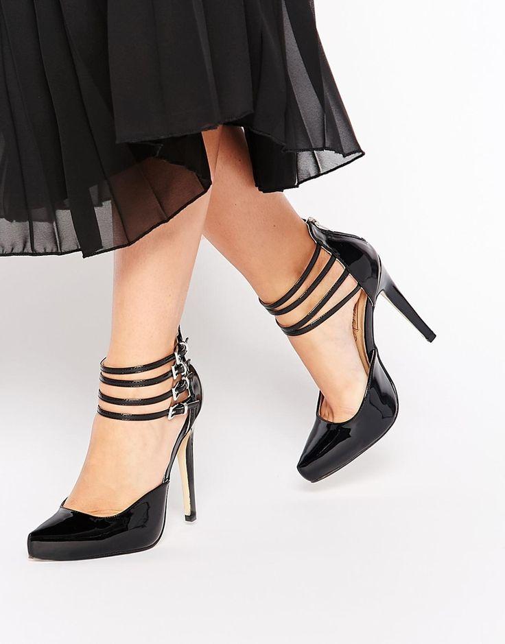 Black Salome Shoes