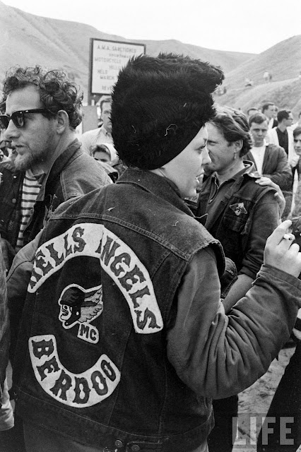 Biker Vest Patches >> Hells Angels Girl with the small death head patch.   81 Motorcycle CLUB   Pinterest   Hells angels