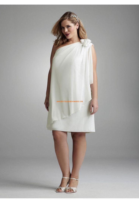 Robe blanche grande taille longue