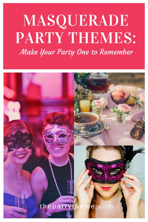Masquerade parties aren't limited to one style. In fact, you can throw a masqu…