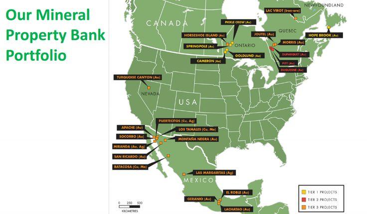 First Finance Mining Map