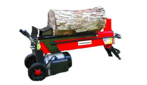 Motor 3HP, 7 Ton, 2500 Watt, 3500RPM- no working out of fuel and begins each time Hydraulic, and Moveable Electric Log Splitter Log Chopping Capability: