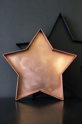 Copper Star Tray