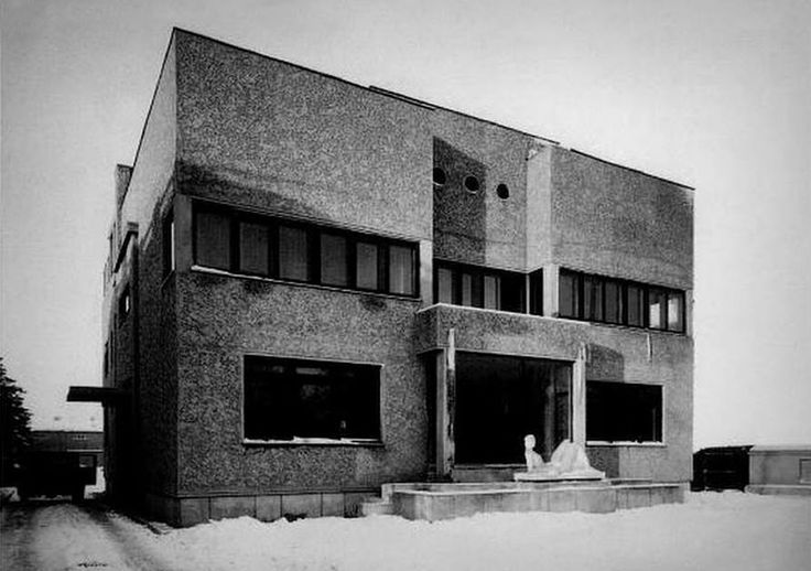 Marcel Iancu (Janco) /// Florica Chihaescu House /// Bucharest, Romania /// 1930