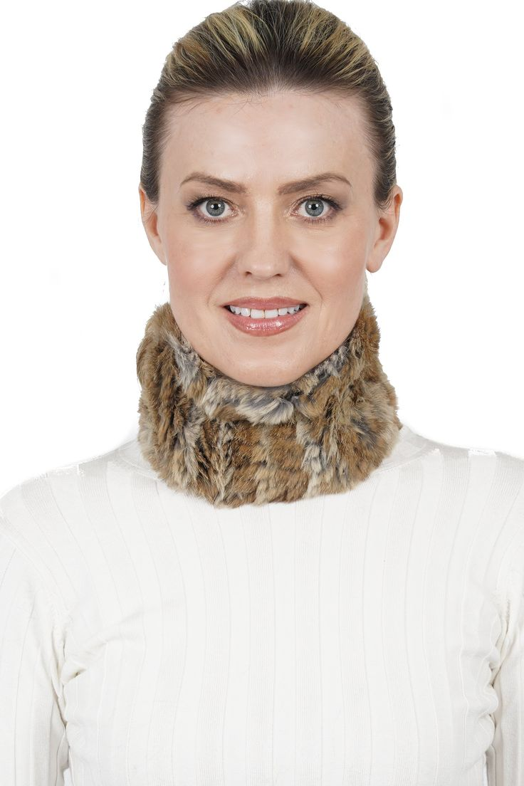 David Rabbit Fur Multi-Scarf, Head Wrap Headband   – Love Token Clothing Products