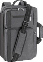 Solo Urban Convertible Laptop Briefcase Backpack Gray UBN310-10 - Best Buy
