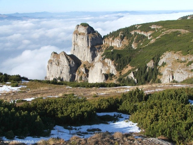 Ceahlau Mountains - Above the clouds